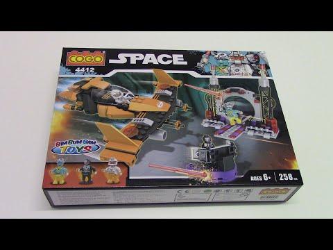 Aufbauvideo vom COGO® 4412 Space Klemmbausteine