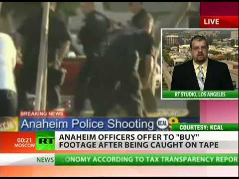 Anaheim police provoke riots after killing a man and attacking women and children