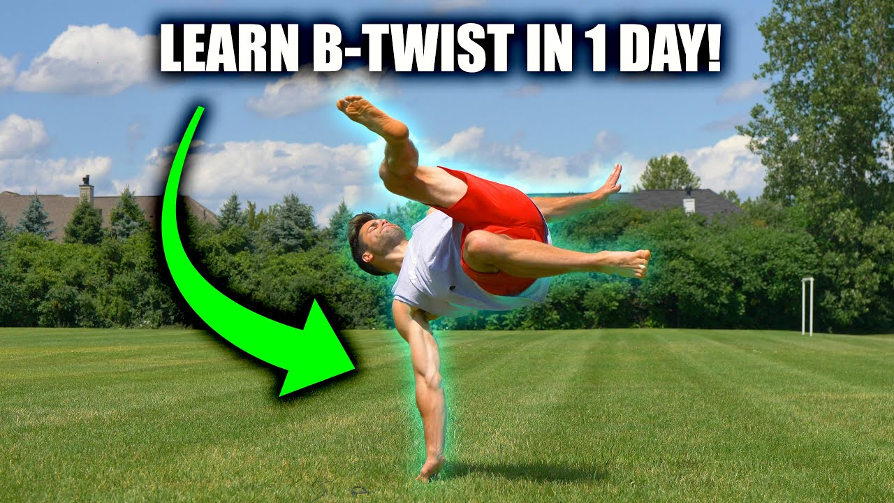 Learn How to B-Twist – In 1 Day – Using Double Hand Method