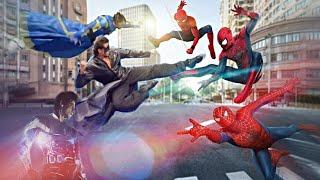 Team Krrish Vs Team Spiderman (Fan Made Trailer)