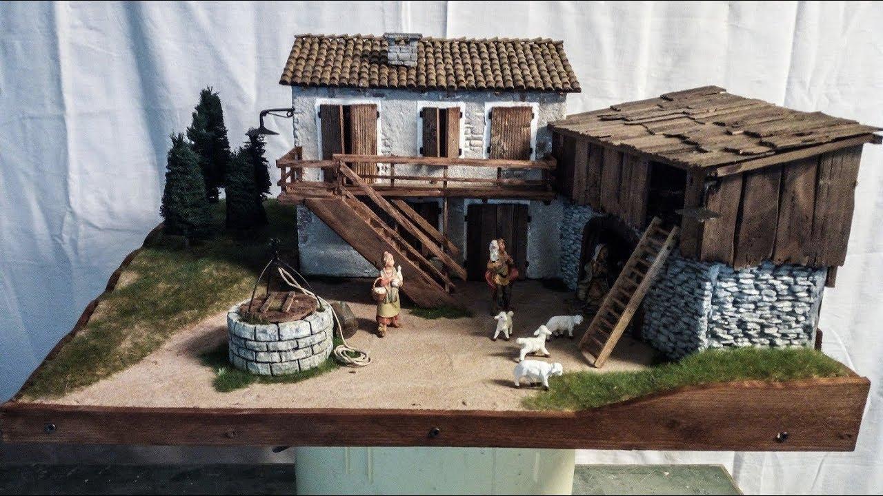 Presepe da una idea di una casa rurale con vecchia stalla - Presepe in casa ...