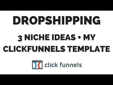 AliExpress Dropshipping Niche Ideas + My Free ClickFunnels Dropshipping Template thumbnail