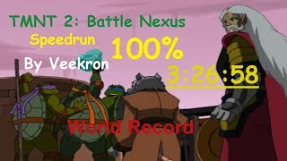 TMNT 2: Battle Nexus(PC) - Speedrun 100% in 3:26:58 World Record