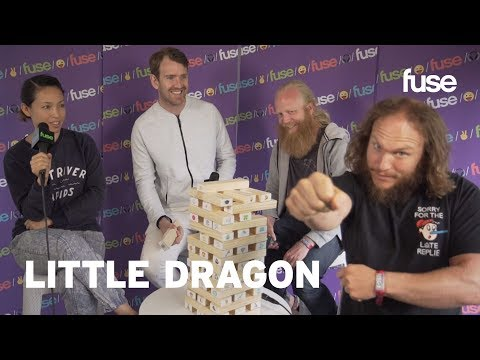 Little Dragon Show Off Robot Dance Moves, Talk Season High | Lollapalooza 2017