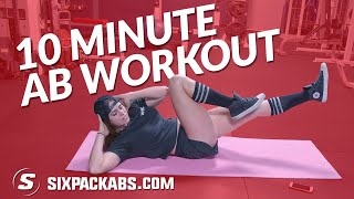 Stuck Inside?? | Anywhere Ab Routine | SixPackAbs.Com