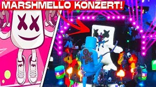 KOMPLETTES MARSHMELLO KONZERT! | Fortnite Marshmello Live Event