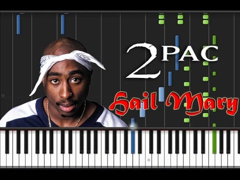 2PAC  Hail Mary Synthesia Original