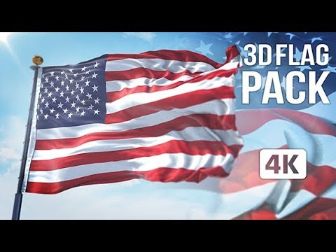 3D FLAG COLLECTION ► [ AFTER EFFECTS TEMPLATES ]