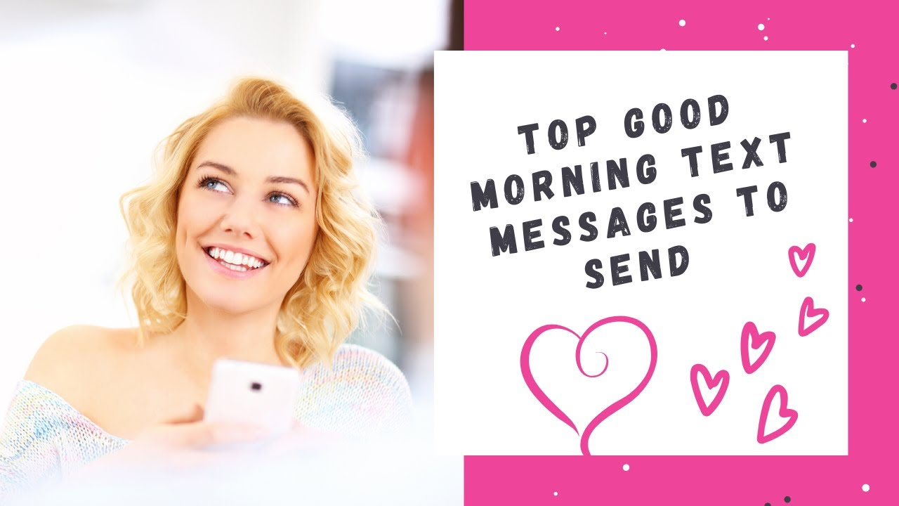 Favorite Good Morning Text SMS Messages to Send - YouTube