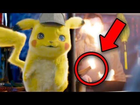Detective Pikachu Trailer BREAKDOWN! Every Pokemon Found!