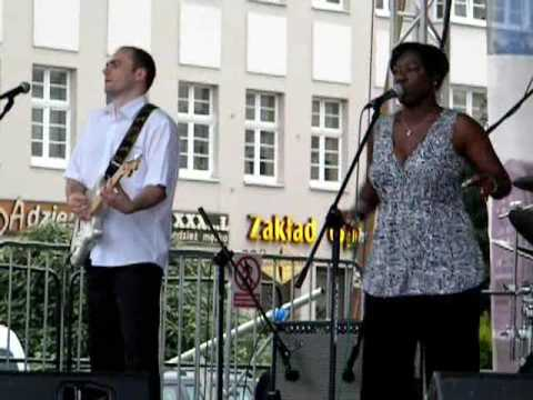Wanda Johnson i Shrimp City Slim Blues Band na Starym Rynku