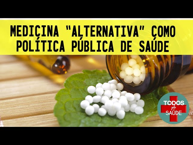 Na PANDEMIA, medicina alternativa/integrativa como política pública de saúde