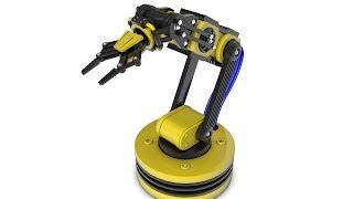 Cinema 4d: Робот Манипулятор. Видео урок  [Превью]