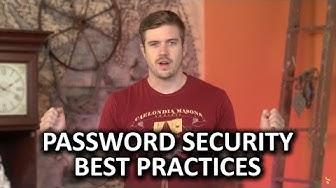 Password Security Best Practices