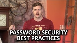 Password Security Best Practices