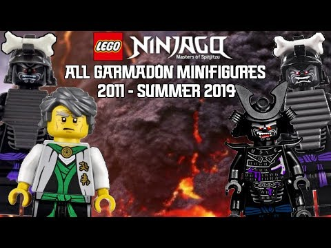 Ninjago Masters of Spinjitzu: All Garmadon Minifigures (2011 - Summer 2019)