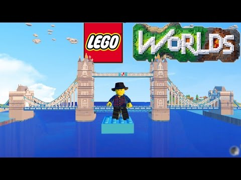 LEGO Worlds - LEGO Land Building Cloud Base, Sky Fortress, Airport & More! #3 (LEGO Worlds)