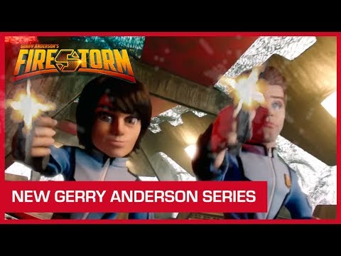 A New Gerry Anderson Series! | Gerry Anderson's Firestorm Trailer