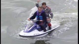 Drag Racer Escapes Horrific Speedboat Crash
