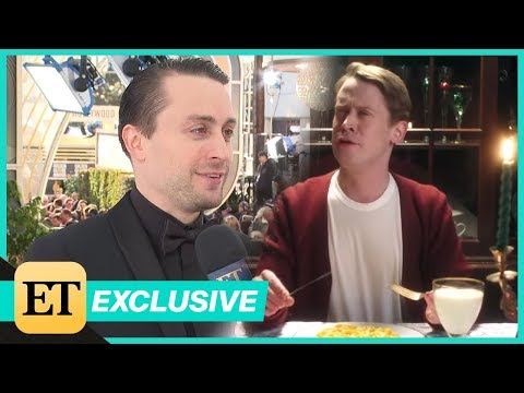 Kieran Culkin Reacts to Brother Macauley Recreating Home Alone for Google (Exclusive)