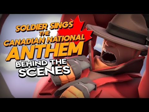 [BTS/SFM] Soldier Sings The Canadian National Anthem