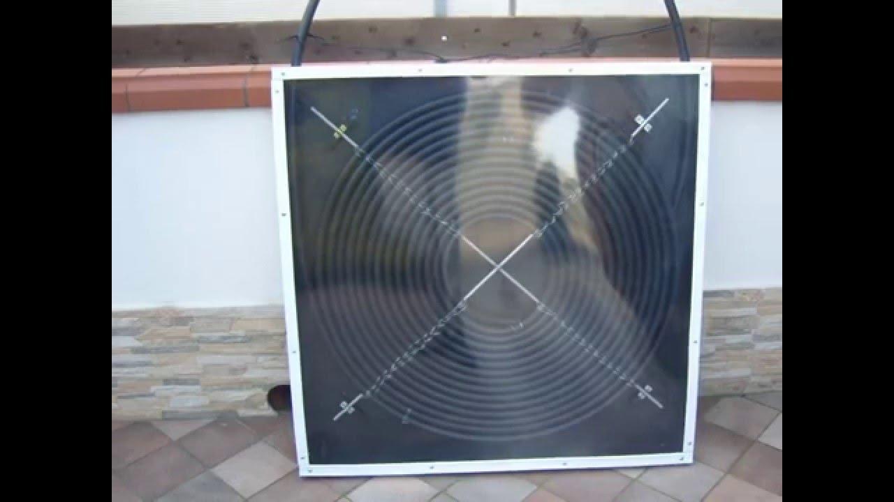 Pannello Solare A Rate : Pannello solare mini per doccia esterna youtube