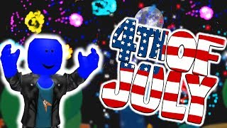 THE BEST 4TH OF JULY FIREWORKS IN ROBLOX!!