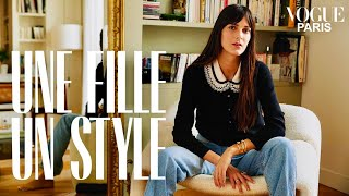 Leia Sfez shows us round her chic and timeless French apartment | Une Fille Un Style | Vogue Paris