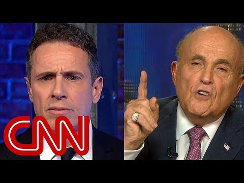 Chris Cuomo asks Giuliani: Will you apologize for Trump?