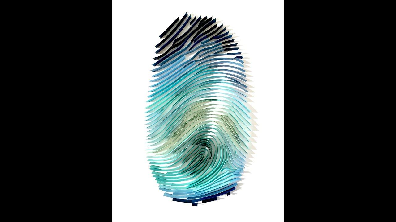 Thumbprint Quilling Art Luke Bugbee Youtube