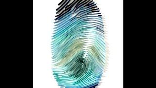 Thumbprint Quilling Art - Luke Bugbee