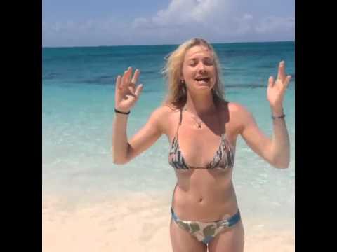 Yvonne Strahovski Ice Bucket Challenge