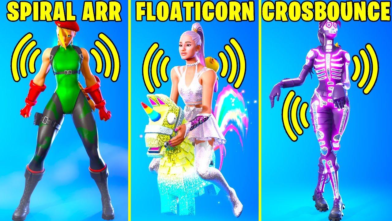 These Legendary Fortnite Dances Have The Best Music! (Crossbounce, Lil' Floaticorn, Flash Kick..)