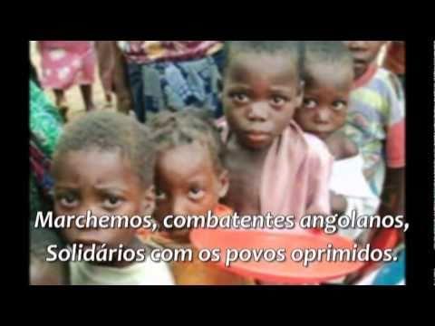 Angola - Hino e fotos
