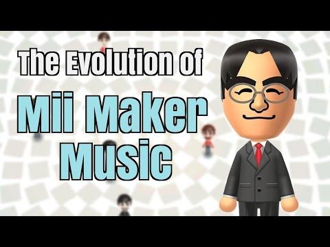 Every Mii Maker Theme  Evolution of Nintendo Music