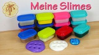 Meine Slime-Sammlung - 16 Slimes