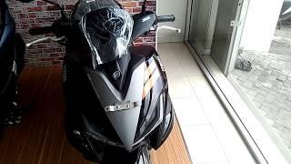 Review singkat Yamaha Aerox 155 VVA tipe standart (2018)