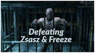 Defeating Zsasz & Freeze   Batman Arkham City #4