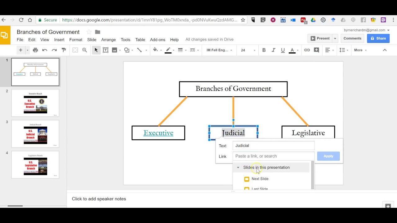 How To Create An Interactive Diagram In Google Slides Youtube