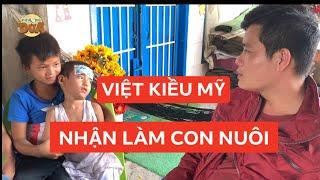 Hai anh em chạy ba gác lượm ve chai được Việt Kiều Mỹ xin về làm con nuôi!!!