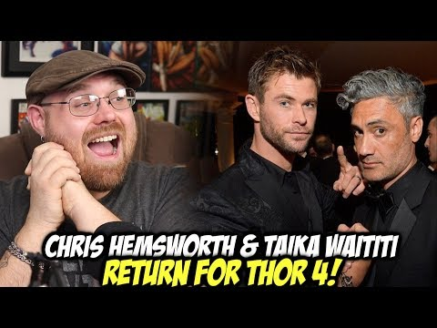 Chirs Hemsworth & Taika Waititi Returns for THOR 4!!!!
