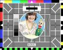 BBC TEST CARD 4Oth ANNIVERSARY - CAROLE HERSEE INTERVIEW