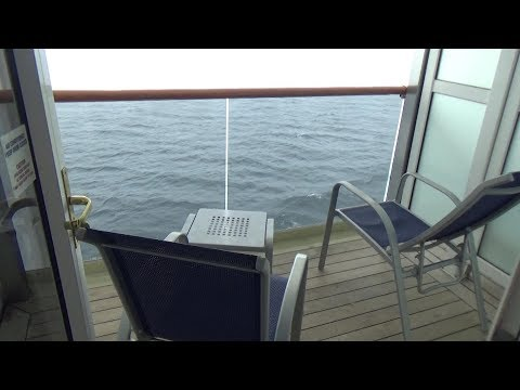 Carnival Legend Stateroom #8221 Extended Balcony
