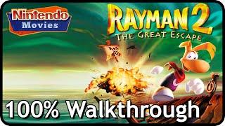 Rayman 2: The Great Escape - 100% Walkthrough