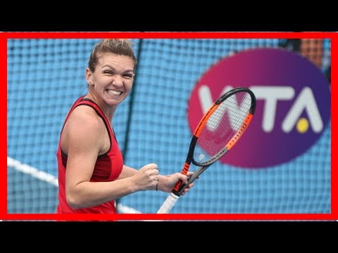 Simona Halep cruises into Shenzhen last open with win | Daily Mail online
