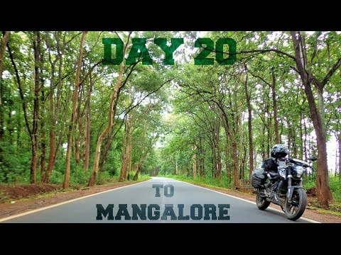 Himalaya Ride - Day 20 - Challakere to Shimoga to Mangalore   Kuppalli
