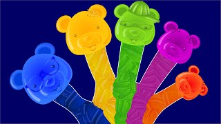 Finger Family | Candy Bear Finger Family | English nursery rhymes for children