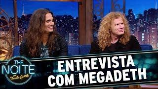 Video Entrevista com Megadeth | The Noite (17/11/17) download MP3, 3GP, MP4, WEBM, AVI, FLV November 2017