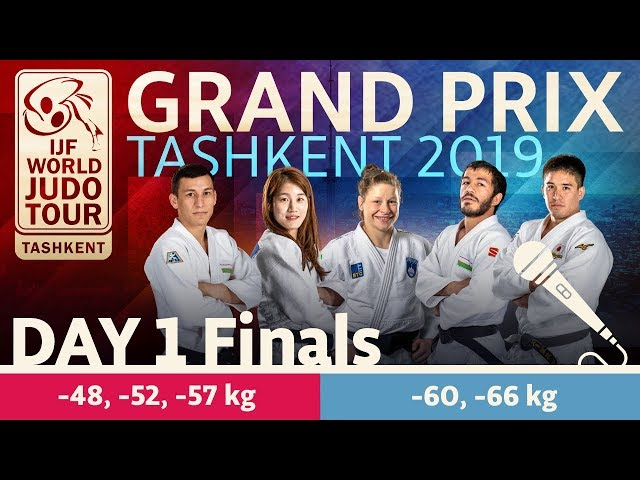 Judo Grand-Prix Tashkent 2019: Day 2 - Final Block