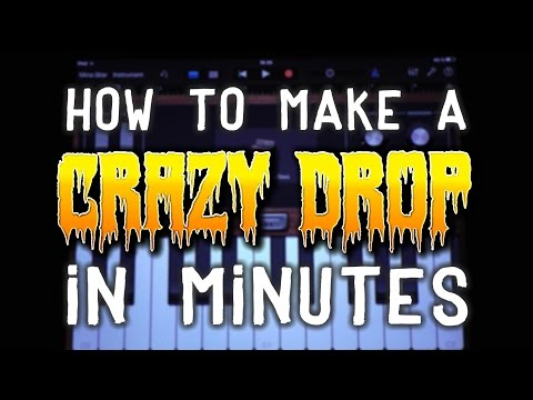 How to make a Crazy DROP in Garageband (iPad & iPhone)